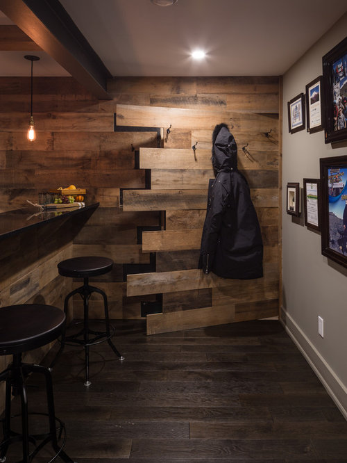 All time favorite basement ideas houzz for Rustic finished basement