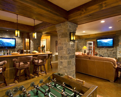 7 Basement Ideas On A Budget Chic Convenience For The Home: Hide Ductwork