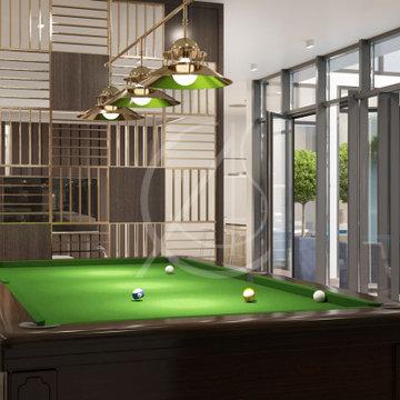 Simple Modern Villa Interior Design
