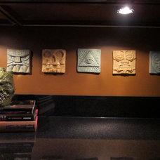 Eclectic Basement by David L. Scott / Lowe's Design Center