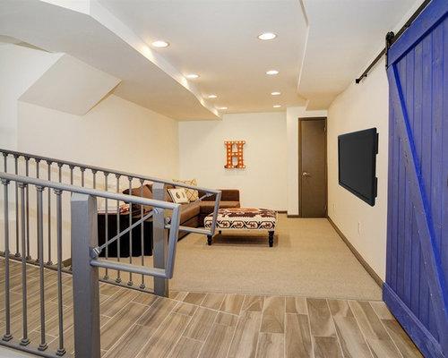 Access ramp basement design ideas renovations photos for Basement access from garage