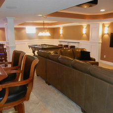 Traditional Basement by R. C. Carpentry, Inc.
