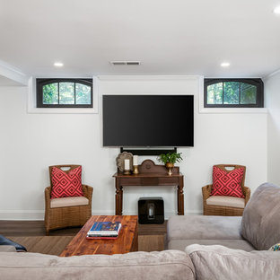 Spacious Basement with Playhouse and Family Room