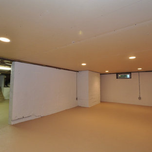 Example of a classic basement design in New York
