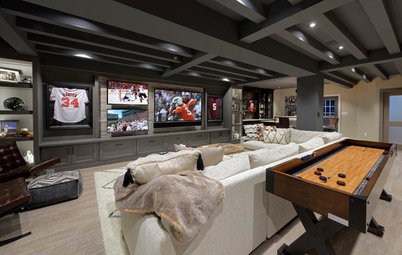10 Dream Basements for Watching the Big Game