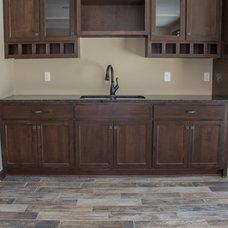 Traditional Basement by LDK Homes