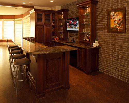 Corner Bar Cabinet Home Design Ideas, Pictures, Remodel and Decor