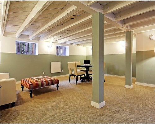 Basement Ideas With Low Ceilings