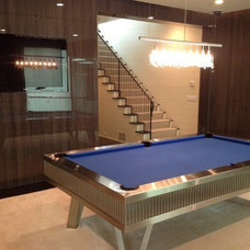 Contemporary Game Tables by Mitchell * Exclusive Billiard Designs *
