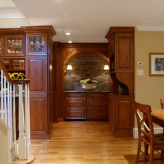 traditional basement by Gardner/Fox Associates, Inc