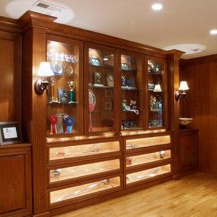 Inspiration for a timeless basement remodel in Philadelphia