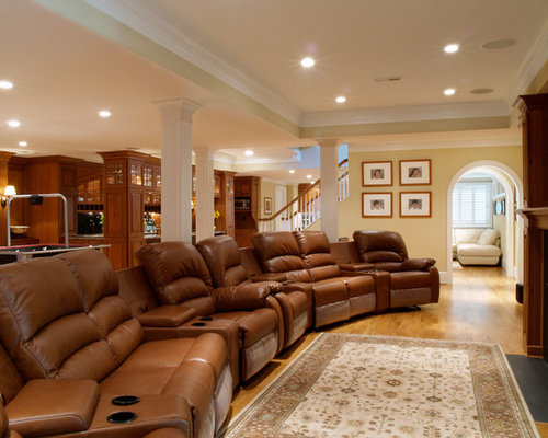 Malvern Pa Award Winning Basement Renovation
