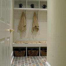 Traditional Basement by Gardner/Fox Associates, Inc
