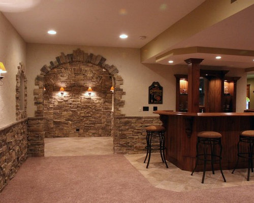 Stone Half Wall Ideas Pictures Remodel And Decor