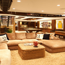 Transitional Basement by About:Space, LLC