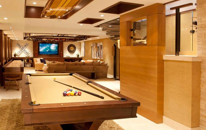 Basement of the Week: For the Love of Sports and Games