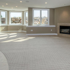 Traditional Basement by Homes by DePhillips