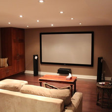 Transitional Basement by FGM CONTRACTING LTD