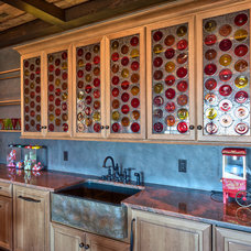 Traditional Basement by Advance Cabinetry MI