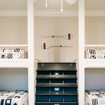 Tellico - lake house basement + bunkroom