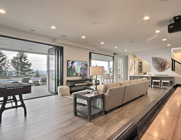 The Aurora : 2019 Clark County Parade of Homes : Daylight Basement & Entertainme