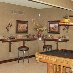 Kansas City Game Room Basement Design Ideas, Pictures, Remodel and