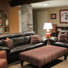 Traditional Basement by Great Spaces!