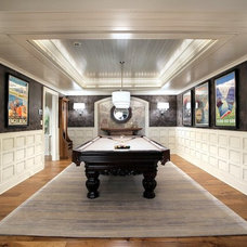 Traditional Basement by Faux-Real, LLC