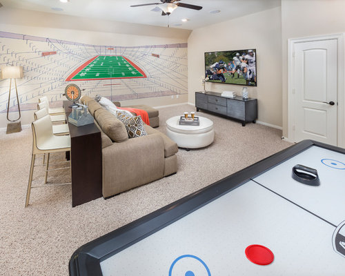 Basement design ideas pictures remodel decor for Houses in houston with basements