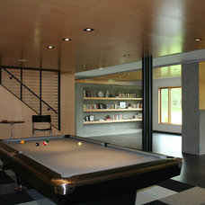 Modern Basement by SALA Architects