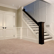 Traditional Basement by Brenlo Ltd.