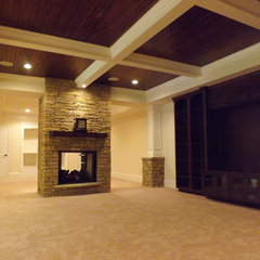 traditional basement by C.R.E.S. Home Remodel & Restorations