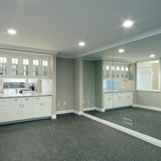 Traditional Basement by Kastler Construction