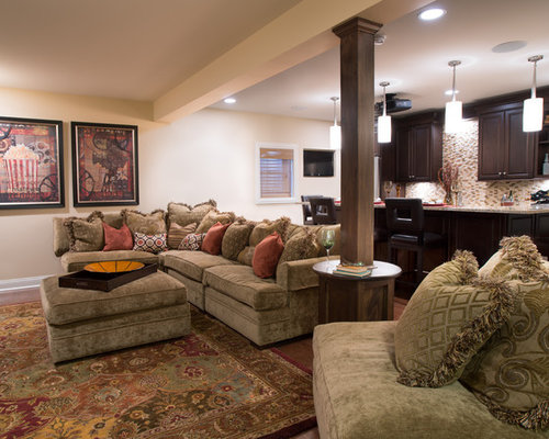 15 Best Traditional Basement Ideas Amp Photos Houzz