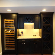 Traditional Basement by Munz Construction