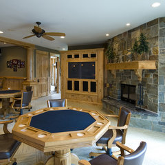 traditional basement by Nor-Son, Inc.