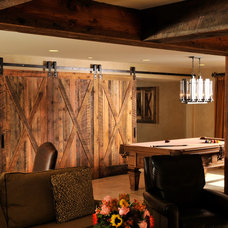 Traditional Basement by Sun Design Remodeling Specialists, Inc.