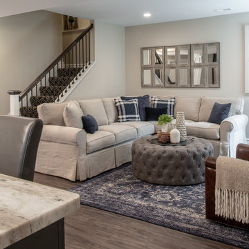 Transitional Lower Level in St. Louis