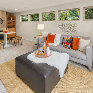 Transitional-Style Bellevue Midcentury Home Remodel