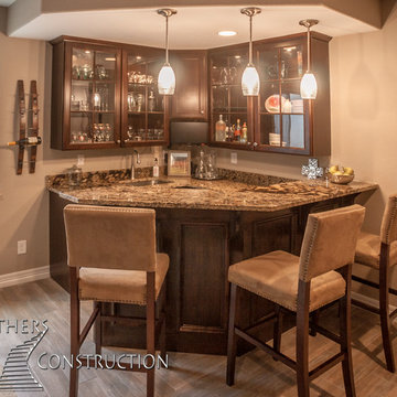 Two Basement Finishing Projects in Blackstone Country Club