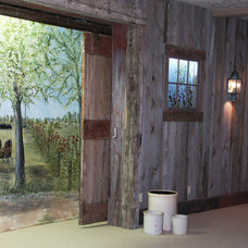 Farmhouse Basement by Thelen Total Construction