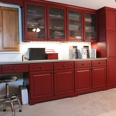 Traditional Basement by Building Materials, Inc.