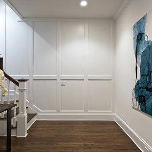 Пример оригинального дизайна интерьера: подвал в классическом стиле