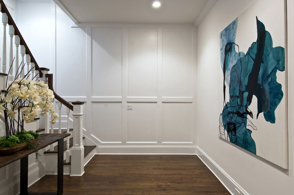 Traditional Basement by EB Designs