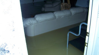 Waldorf flooded basement