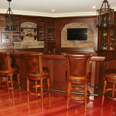 Traditional Basement by Royal Cabinet Company, Inc.