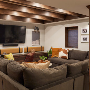 Warm and Inviting Basement