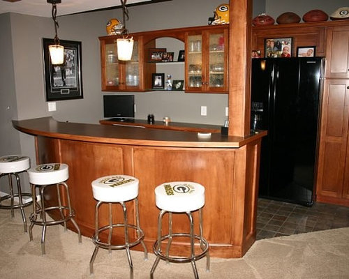 Green Bay Packers Basement Design Ideas Pictures Remodel