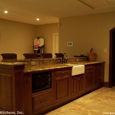 Traditional Basement by George's Kitchens, Inc.