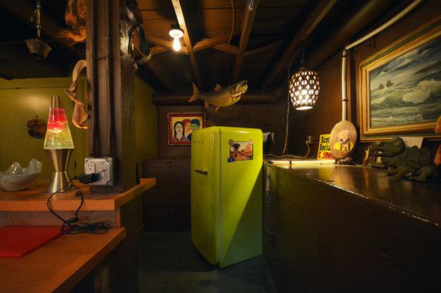 Houzz TV: What Lies Beneath? A Tiki Bar Basement